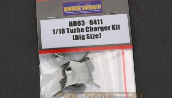 Turbo charger Kit (Big Size) 1/18 - Hobby Design