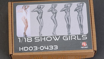 Show Girls 1/18 - Hobby Design