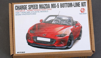 Charge Speed Mazda MX-5 Bottom-Line Detail-up Set For T 24342 - Hobby Design
