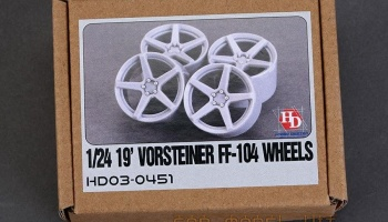 19' Vorsteiner V-FF-104 Wheels - Hobby Design