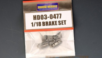 RACING BRAKE SET 1/18 - Hobby Design