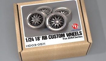 18' RB Custom Wheels For Jdm Series - Hobby Design