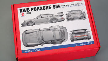 RWB Porsche 964 Full Detail Kit - Hobby Design