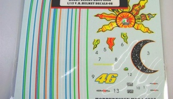 V. Rossi helmet decals for 2008 - Hobby Design
