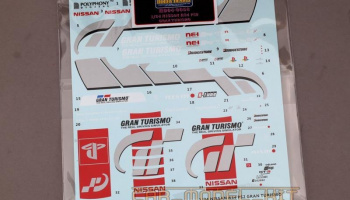 Nissan R34 PS2 Gran Turismo Decals - Hobby Design