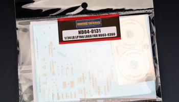 LB LP700 Logo For HD03-0360 - Hobby Design