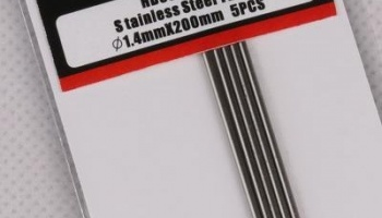 Stainless Steel Tube 1.4mm*200mm - Hobby Design