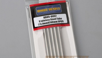 Stainless Steel Tube 3.0mm*200mm - Hobby Design