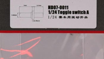 Toggle switch A - Hobby Design
