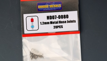 Metal Hose Joints 1,2mm - Hobby Design