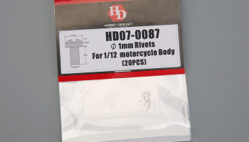 1mm Rivets For 1/12  motorcycle Body - Hobby Design