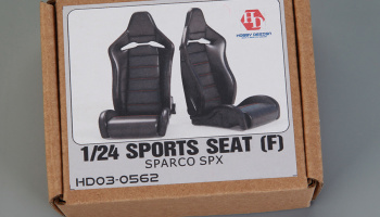 Sports Seats (F) Sparco Spx 1/24 - Hobby Design