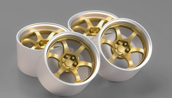 17' ADVAN RG-D2 Wheels 1/24 - Hobby Design
