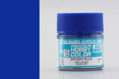 Hobby Color H 015 - Bright Blue - Gunze