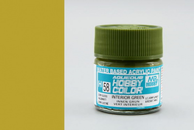 Hobby Color H 058 - Interior Green - Gunze