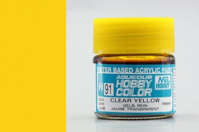 Hobby Color H 091 - Clear Yellow  - Gunze