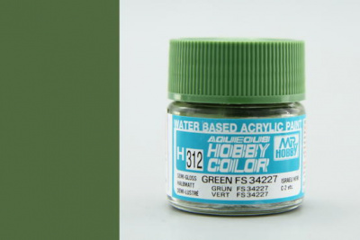 Hobby Color H 312 - FS34227 Green - Gunze