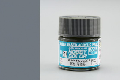 Hobby Color H 317 - FS36231 Gray - Gunze