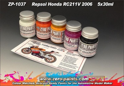 Honda RC211V 2006 - Repsol Paints (5x30ml) - Zero Paints