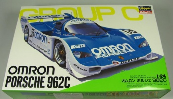 Omron Porsche 962C Limited Edition - Hasegawa