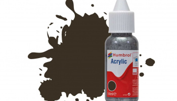 Humbrol barva akryl DB0010 - No 10 Service Brown - Gloss - 14ml
