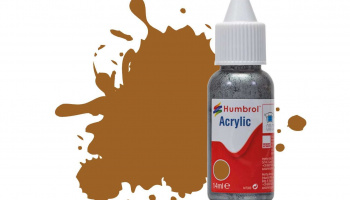 Humbrol barva akryl DB0012 - No 12 Copper - Metallic - 14ml