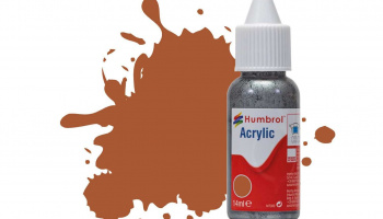 Humbrol barva akryl DB0062 - No 62 Leather - Matt - 14ml
