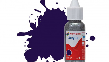 Humbrol barva akryl DB0068 - No 68 Purple Gloss - 14ml