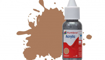 Humbrol barva akryl DB0118 - No 118 US Tan - Matt - 14ml