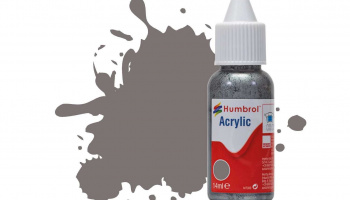 Humbrol barva akryl DB0156 - No 156 Dark Camouflage Grey Satin - 14ml