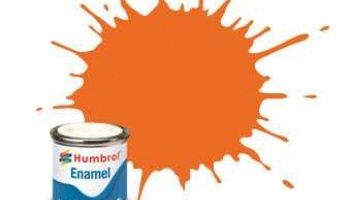 Humbrol barva email AA0046 - No 46 Orange - Matt - 14ml