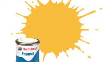 H.7 Light buff gloss enamel tinlet - Humbrol