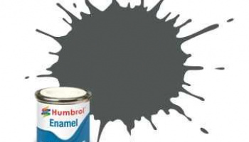 Humbrol barva email AA0299 - No 27 Sea Grey - Matt - 14ml