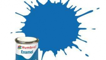 Humbrol barva email AA0566 - No 52 Baltic Blue - Metallic - 14ml