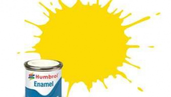 Humbrol barva email AA0761 - No 69 Yellow - Gloss - 14ml