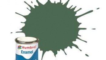 Humbrol barva email AA0847 - No 76 Uniform Green - Matt - 14ml