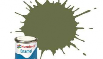 Humbrol barva email AA0881 - No 80 Grass Green - Matt - 14ml