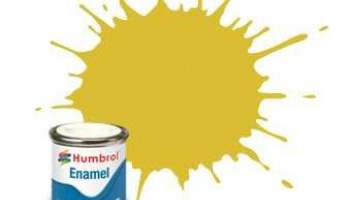 Humbrol barva email AA0895 - No 81 Pale Yellow - Matt - 14ml