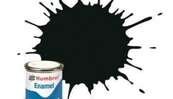 Humbrol barva email AA1002 - No 91 Black Green - Matt - 14ml