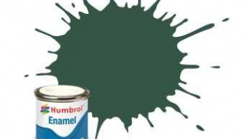 Humbrol barva email AA1287 - No 116 US Dark Green - Matt - 14ml
