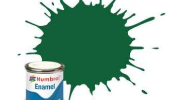 Humbrol barva email AA1328 - No 120 Light Green - Matt - 14ml