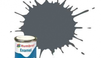 Humbrol barva email AA1376 - No 125 US Dark Grey - Satin - 14ml