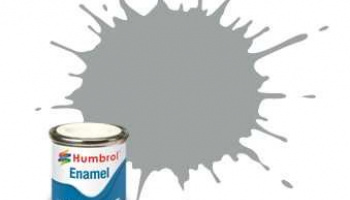Humbrol barva email AA1420 - No 129 US Gull Grey - Satin - 14ml