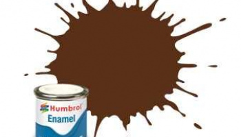 Humbrol barva email AA1732 - No 160 German Cam Red Brown - Matt - 14ml