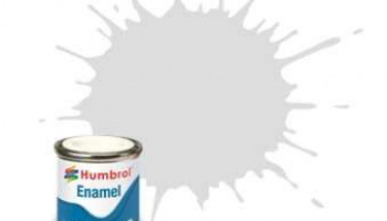Humbrol barva email AA6344 - No 196 Light Grey - Satin - 14ml