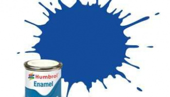 Humbrol barva email AA7222 - No 222 Moonlight Blue - Metallic - 14ml