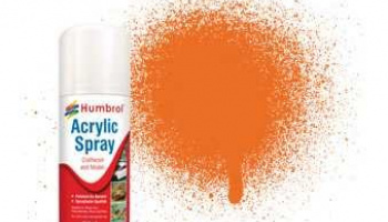 Humbrol sprej akryl AD6018 - No 18 Orange - Gloss - 150ml