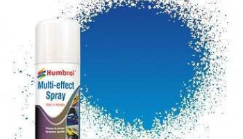 Humbrol sprej akryl AD6213 - Blue Multi-Effect Spray