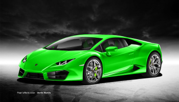 Huracan Verde Mantis - Zero Paints