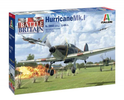Hurricane MK. I (1:48) Model Kit 2802 - Italeri